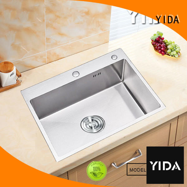 YIDA stainless steal kitchen sink indispensable for restaurant